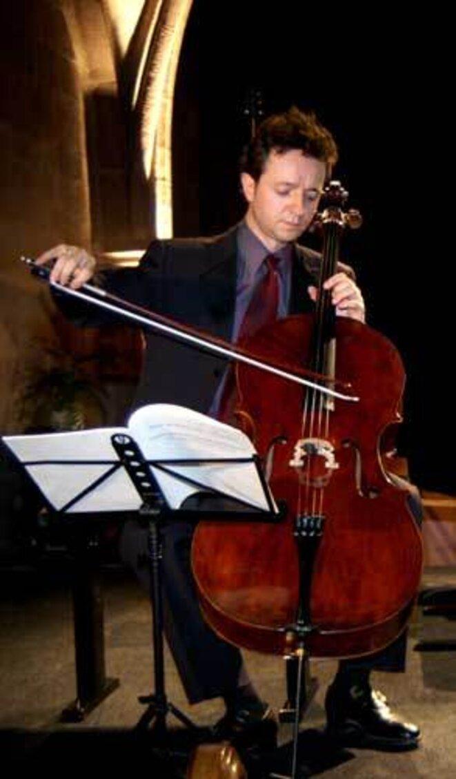 Le violoncelliste Marc Coppey
