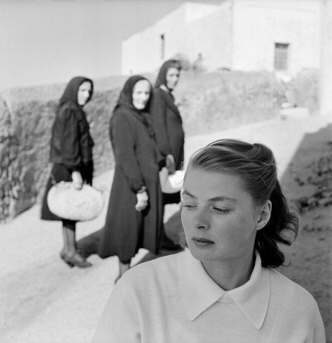 Ingrid Bergman sur l'île de Stromboli, Italie, 1949 © The Gordon Parks Fou