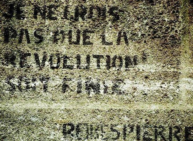 Je ne crois pas que la Révolution soit finie! Robespierre