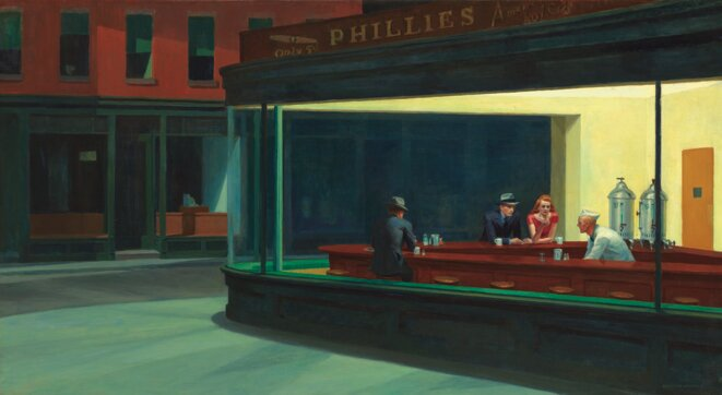Nightthawks, Edward Hopper