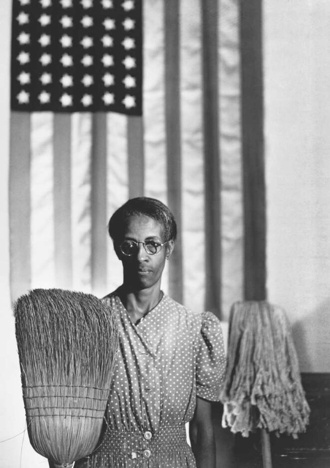 © Gordon Parks  American Gothic (Ella Watson), Washington, 1942 © The