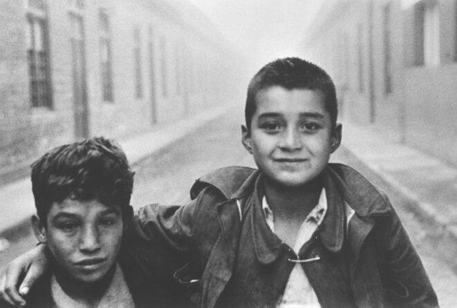 Gamins des rues, Santiago, 1957. Sergio Larrain