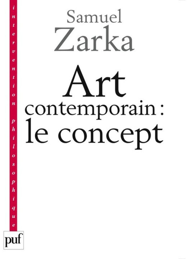 Art contemporain : le concept,Puf
