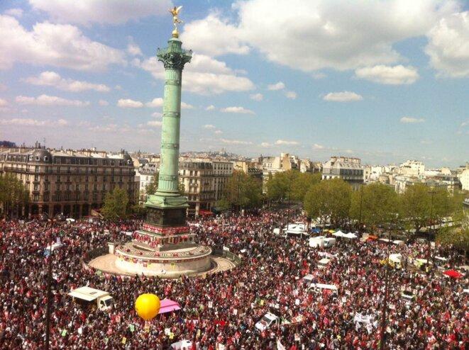 5 mai, place de la Bastille