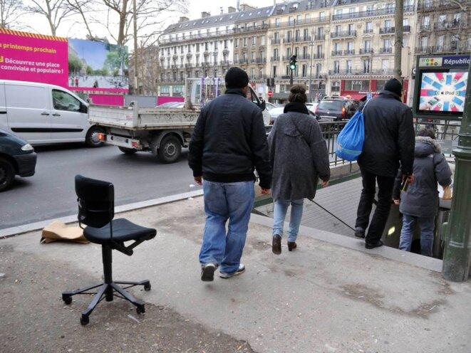 De quoi asseoir la République... © Gilles Walusinski