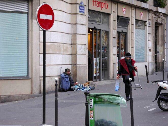 Boulevard Beaumarchais... © Gilles Walusinski