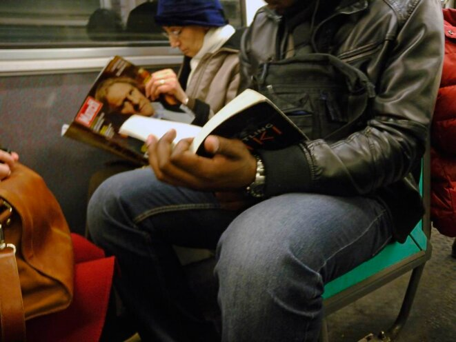 Jambes ligne 9 du métro