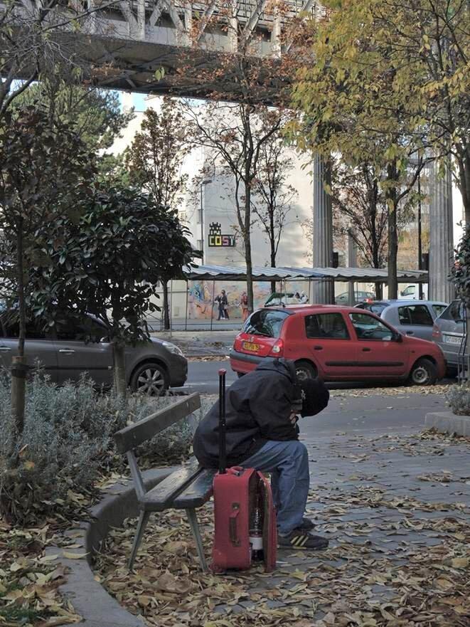Boulevard Vincent Auriol - novembre 2014 © Gilles Walusinski