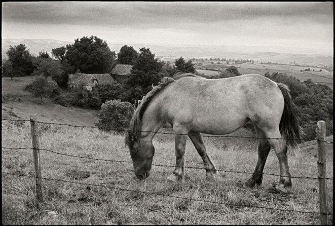 Conques - Aveyron -1972  © Gilles Walusinski