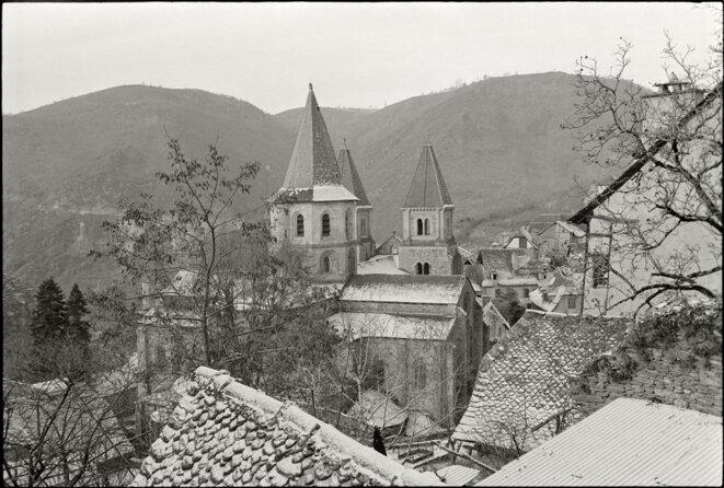 Conques - Aveyron -1973 © Gilles Walusinski
