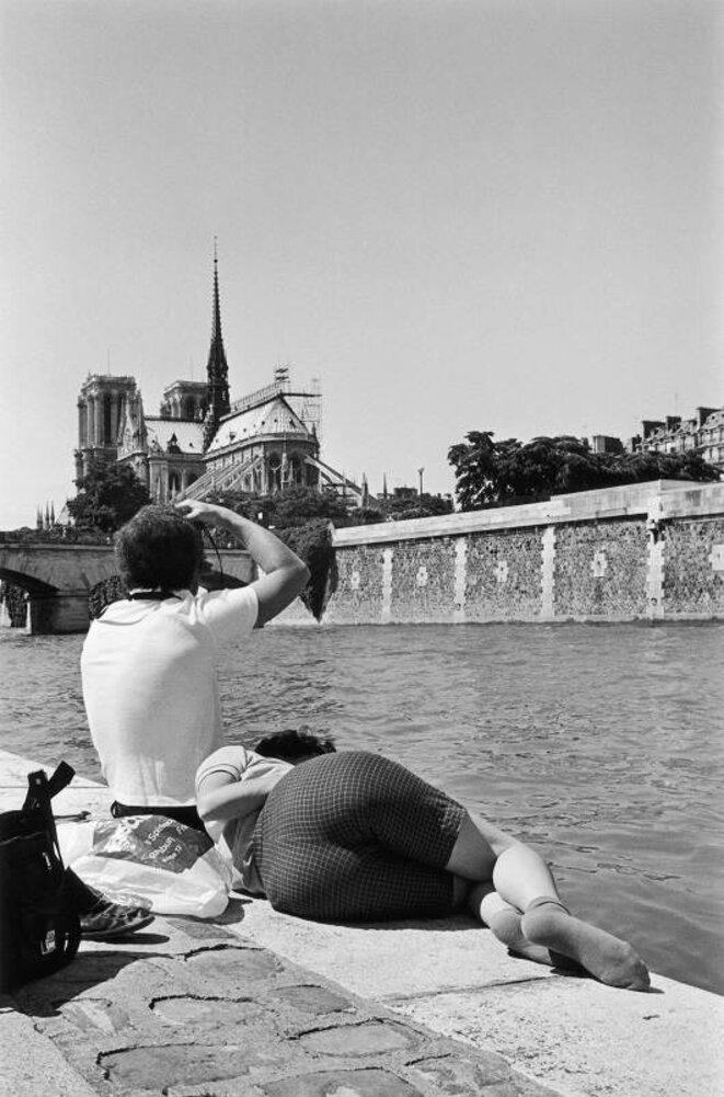Le derrière de Notre-Dame - 1981 © Jean-Philippe Charbonnier