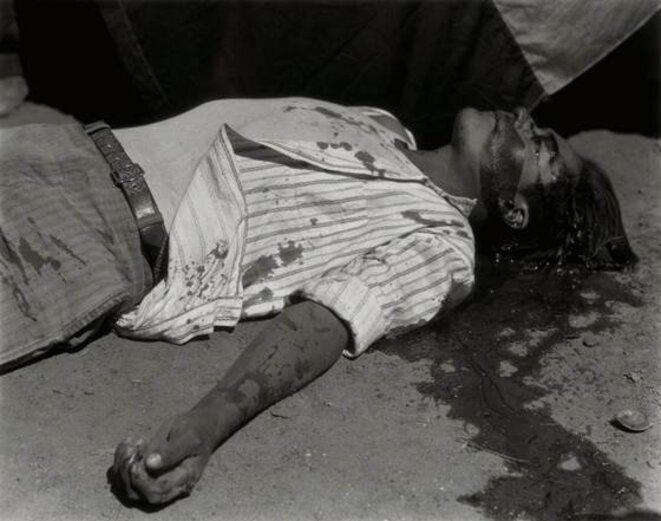 ouvrier gréviste assassiné © Manuel Alvarez Bravo