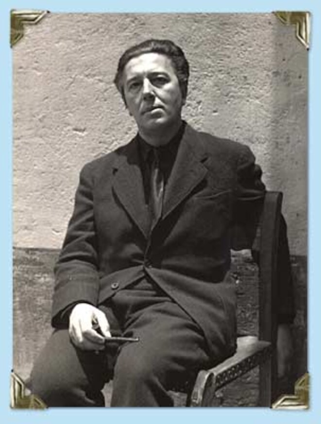 André Breton © Manuel Alvarez Bravo