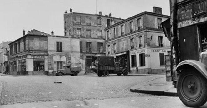 Rue Saint Blaise - Paris 1947 © Jean-Philippe Charbonnier