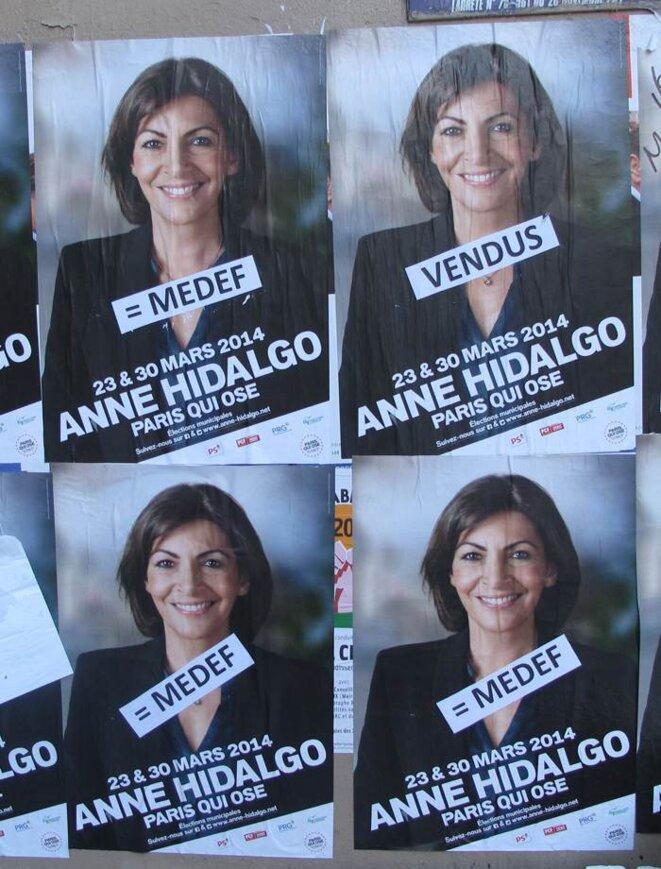 Une affiche parmi beaucoup d'autres ! © Pierre Magne