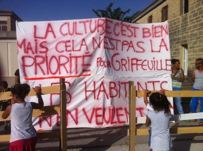 Arles Grifeuille QC Mastoc mobilisation des habitants du quartier © m.bartoli