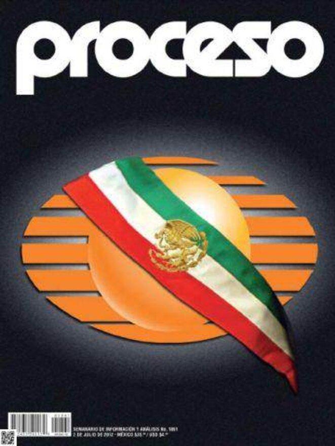 Une de la revue d'opposition Proceso après les élections du 1er juillet.