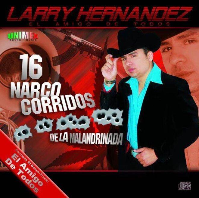 Photo d'un disque de narcocorridos