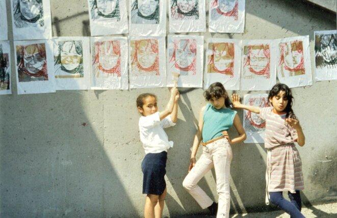 Quartier Parc Bellevue, Marseille 1984 © Hervé Germain