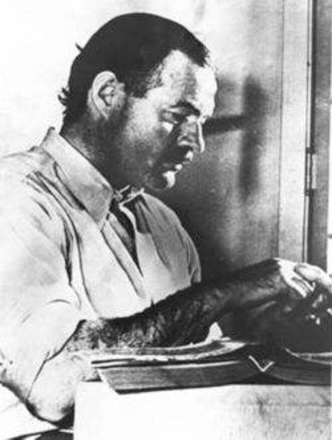 Ernest Hemingway en 1939