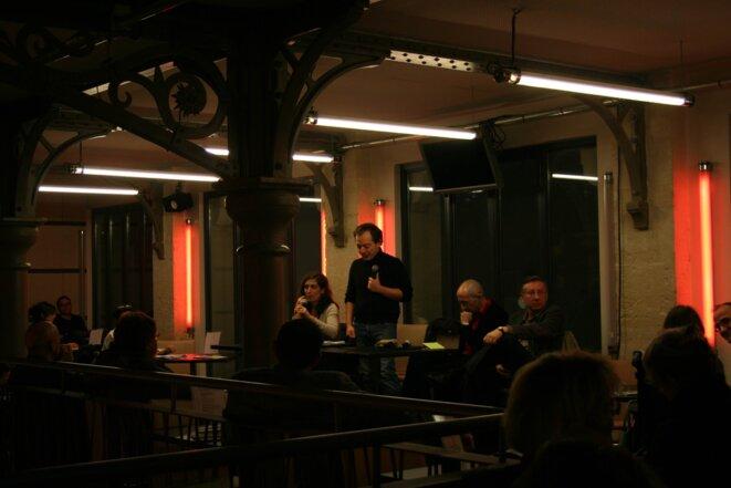 Débat à la maison des métallos (09/02/2011) © Virginnie Guennec