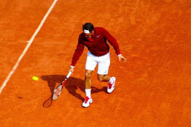 R. Federer, RG 2011 © C. Sénéchal