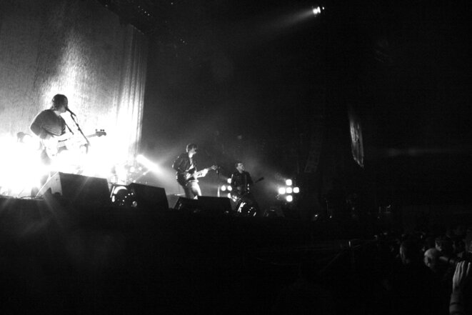 Arctic Monkeys, live © C. Sénéchal