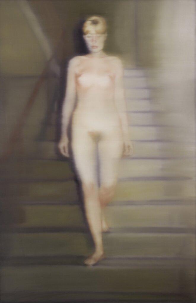 Ema (Nu sur un escalier) - 1966 © Gerhard Richter