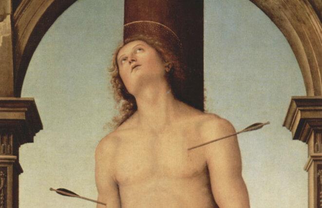 Saint Sébastien (détail) © Le Pérugin