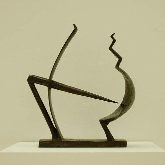 homme et femme - 1928 © Giacometti