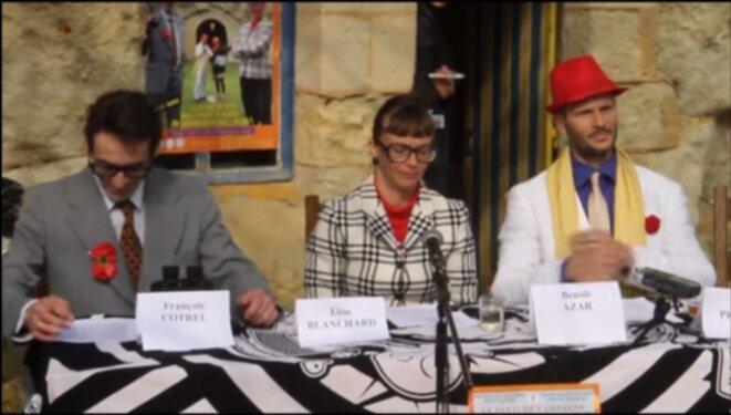 1° conférence de presse du Parti de Campagne ! © Saumur Kiosque
