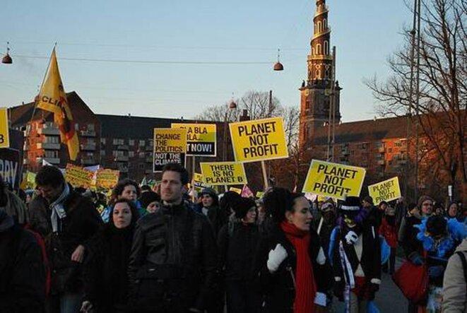 Manifestation à Copenhague. © Nicolas Van Nuffel - CNCD 11.11.11