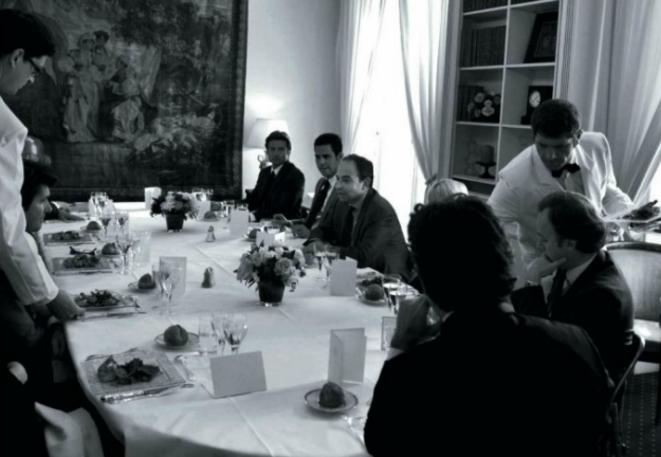 A l'Assemblée, à droite de J.-F. Copé: F. Seiman et son associé