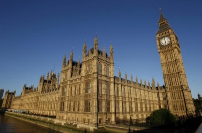 Le Palais de Westminster à Londres, où siègent la chambre des communes et la chambre des lords