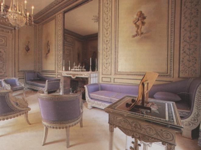 Le Salon d'argent à l'Elysée © DR