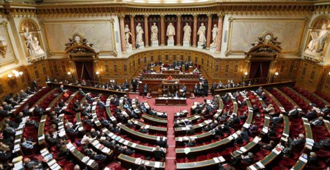 L'hémicycle du Sénat © Reuters
