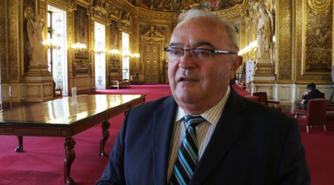 Jean-Marc Pastor (PS), l'un des trois questeurs du Sénat
