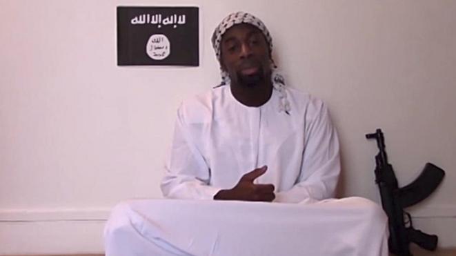 Amedy Coulibaly sur sa video posthume © DR