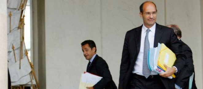 N. Sarkozy et E. Woerth © Reuters
