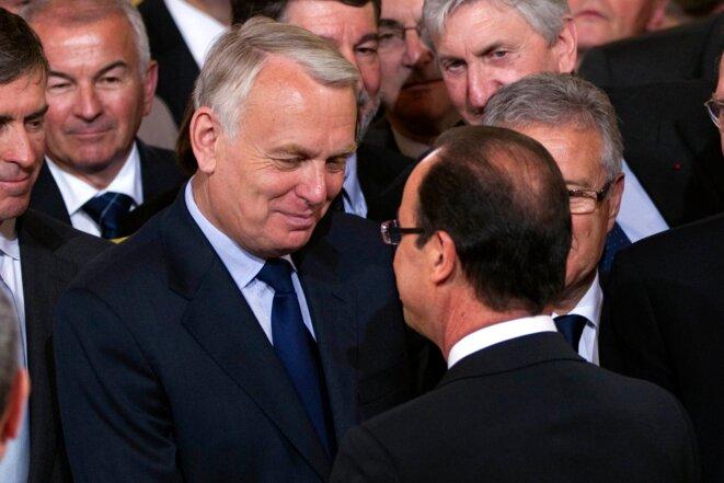 Jean-Marc Ayrault, mardi 15 mai, quelques heures avant sa nomination à Matignon © Reuters