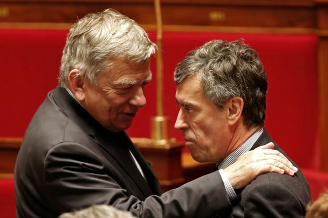 J. Cahuzac soutenu par Jean Glavany en février 2013