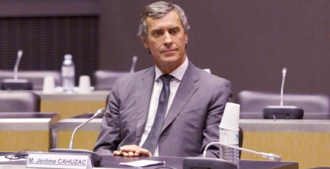 Jérôme Cahuzac lors de son audition par la commission d'enquête de l'Assemblée nationale