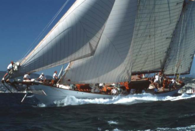 L'ancien yacht d'A. Gobet