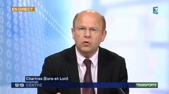 Le député et maire de Chartres, Jean-Pierre Gorges (UMP)