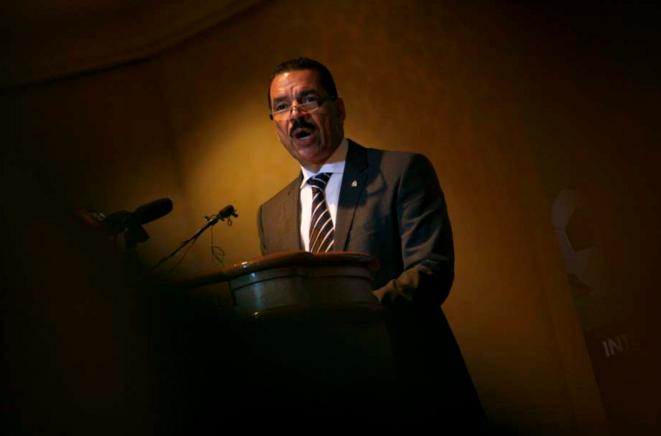 Ronald K. Noble, en février 2013, à Kuala Lumpur