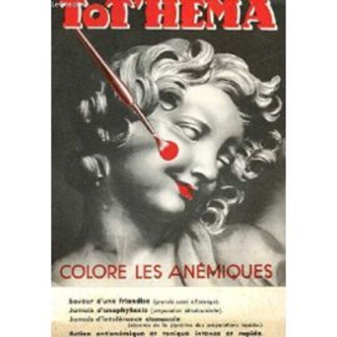 Une vieille publicité pour le Tot'hema