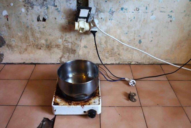 L'électricité dans une cellule (photo G. Korganow/CGLPL)