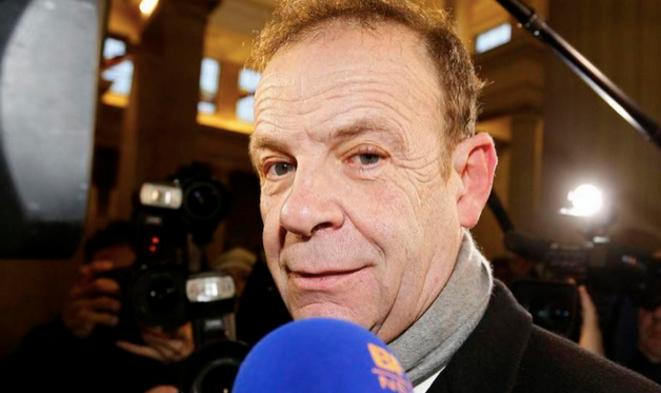 François-Marie Banier au tribunal de Bordeaux © Reuters