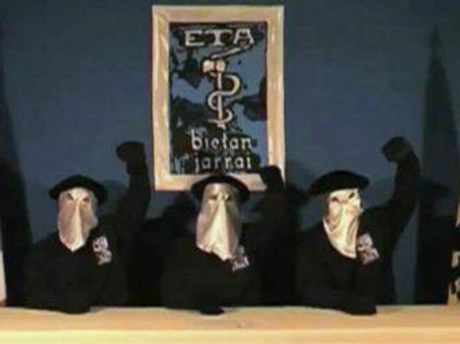 ETA annonçant un cessez-le-feu