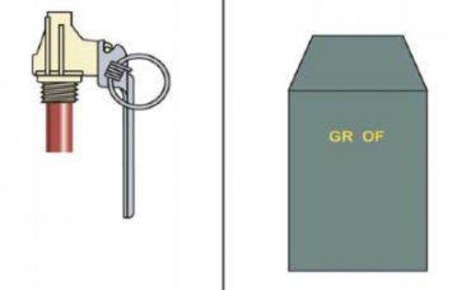 La grenade offensive OF